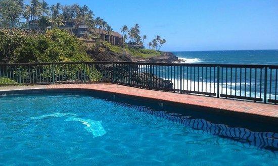 Poipu Shores Resort:                                     Sunny Poipu