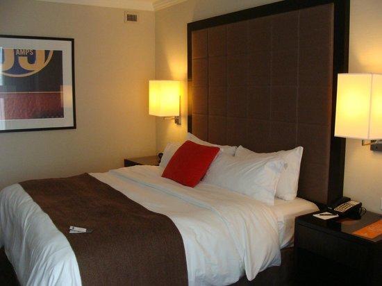 Loews Atlanta Hotel:                   Comfy bed
