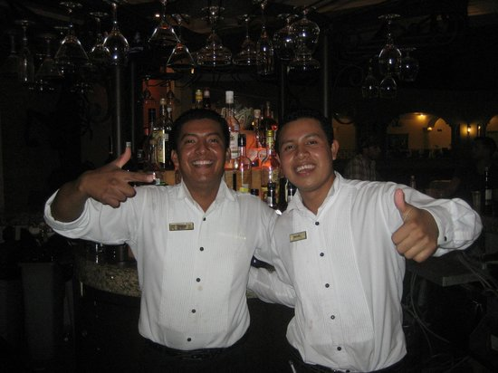 The Royal Playa del Carmen:                                     Wonderful staff