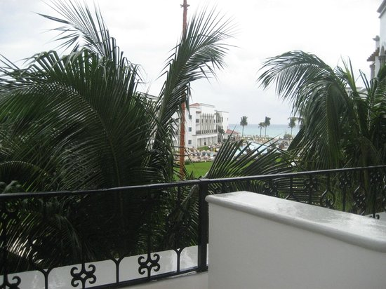 The Royal Playa del Carmen:                                     View from our room