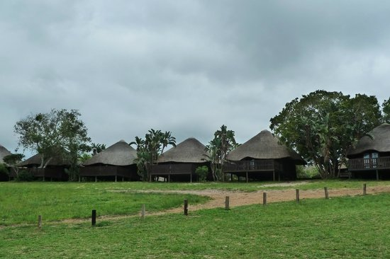 Sodwana Bay Lodge bungalows
