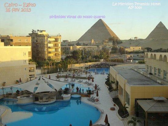 Le Meridien Pyramids Hotel & Spa:                   vista do AP 5064