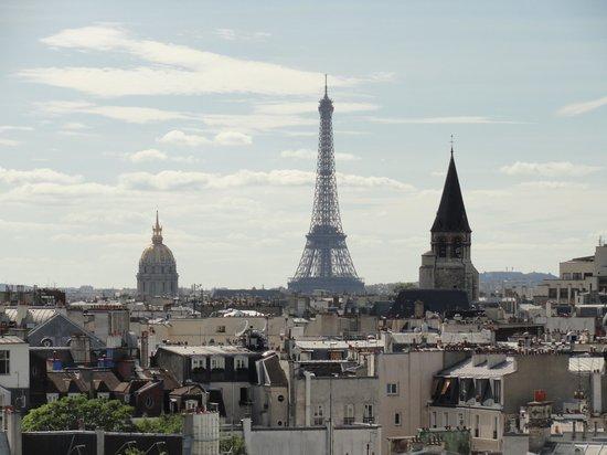 Holiday Inn Paris - Notre Dame:                   Vistas desde la habitación