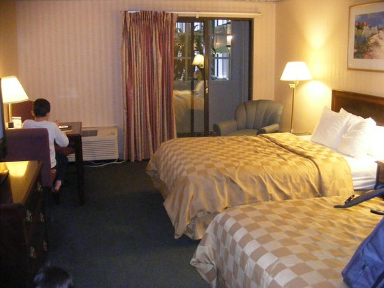 Clarion Hotel Lake Erie:                   room