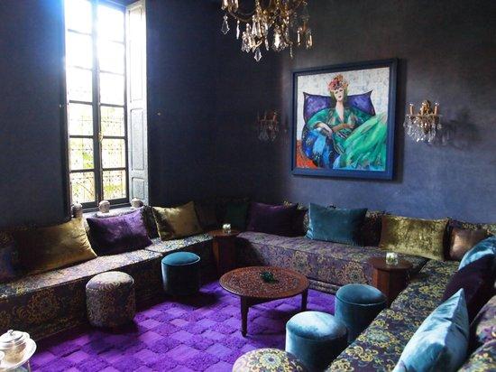 Tigmiza - Suites & Pavillons:                   De lounge was heel bijzonder...