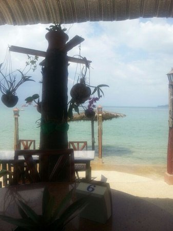 Andaman Bangtao Bay Resort:                   the view from the restaurant