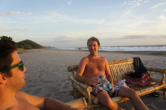 Popoyo Beach Hostel:                   A great place to chill out with friends