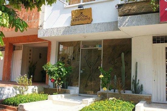 Hostel Kasa Guane:                   Entrance
