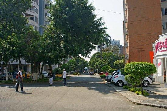 Hostel Kasa Guane:                   Street infront of Kasa Guane