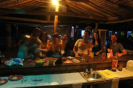Popoyo Beach Hostel:                   NYE