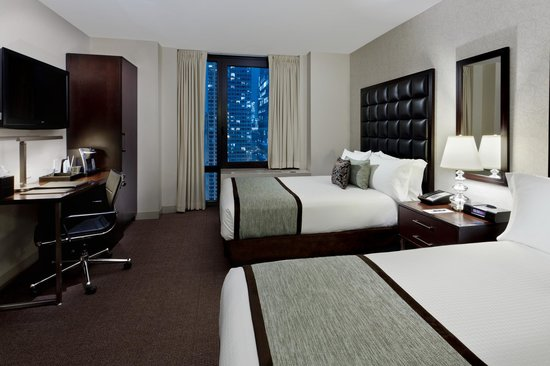 Distrikt Hotel New York City: Grandview with Two Double Beds