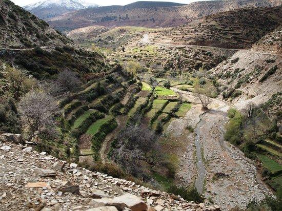 Maroc Expe:                   Uitzicht in de Atlas...