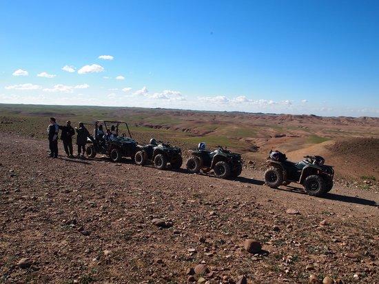 Maroc Expe:                   Mooi uitzicht in de woestijn...