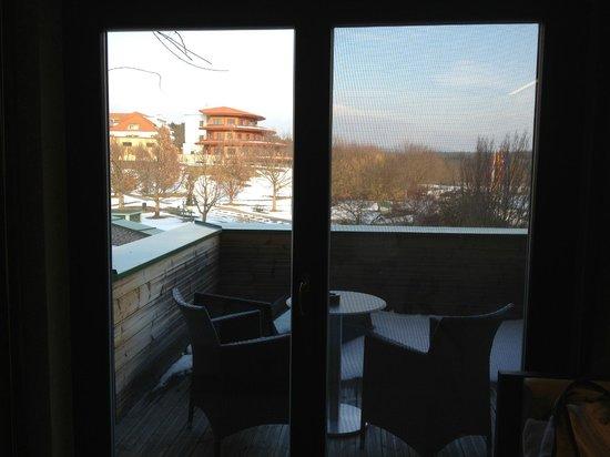 Reiters Supremehotel:                   Aussicht