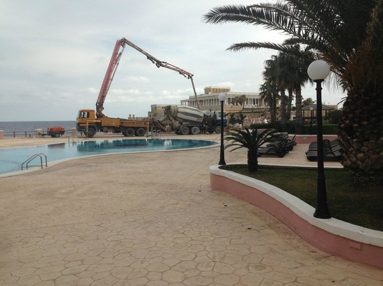 The Westin Dragonara Resort, Malta:                   The last thing you expect at a 5 star resort building works during Half Term..
