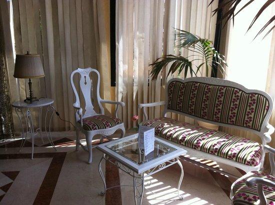 Zaki Hotel: Le lobby