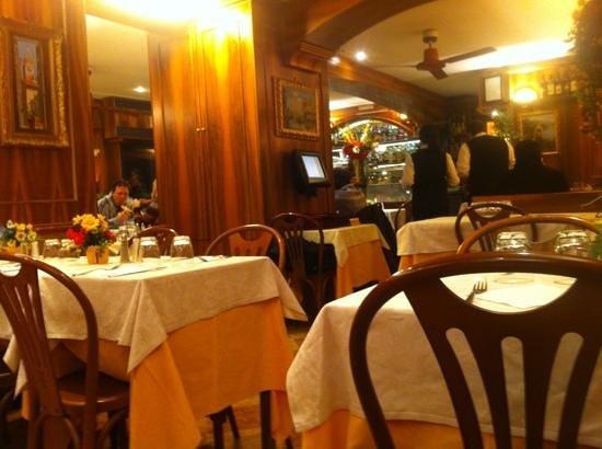Restaurant Pizza Da Celio:                                     salle