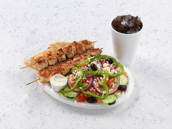 Mythos Grill: Chicken Souvlaki