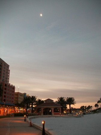 Magnuson Hotel Clearwater Beach:                   View from hotel