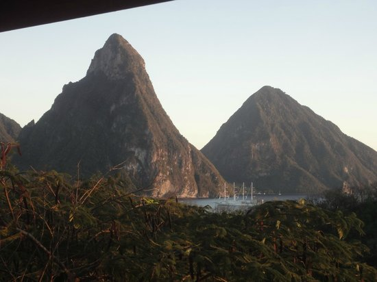 Anse Chastanet:                   View from Balcony of 7C