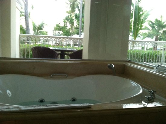 Iberostar Grand Hotel Bavaro:                   Jetted-tub with great views