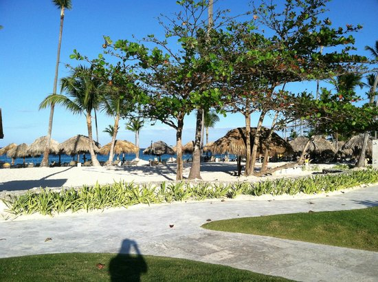 Iberostar Grand Hotel Bavaro:                   Get up early to reserve your space near the water!