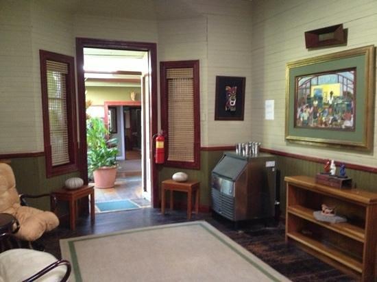 Hotel Aranjuez:                   décoration intérieur
