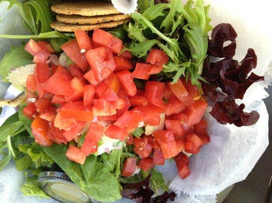 Relish Cafe & Market Place:                   Salad