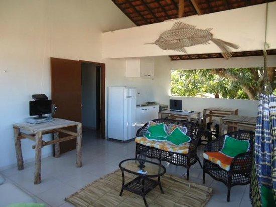 Maragua Pousada Hostel : varanda marágua pousada hostel