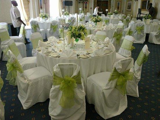 York Suite Wedding Reception Picture Of Aston Court Hotel Derby