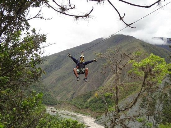 Zipline Inka Flyer Santa Teresa