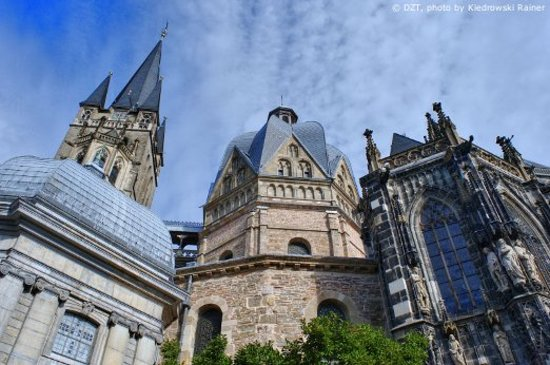 Germany:                   Aachen: Cathedral