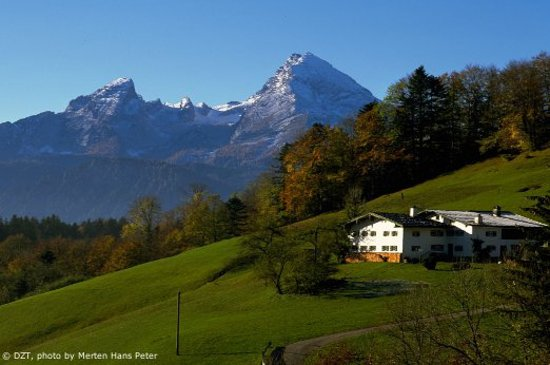 Germany:                   Berchtesgadener Land: Watzmann