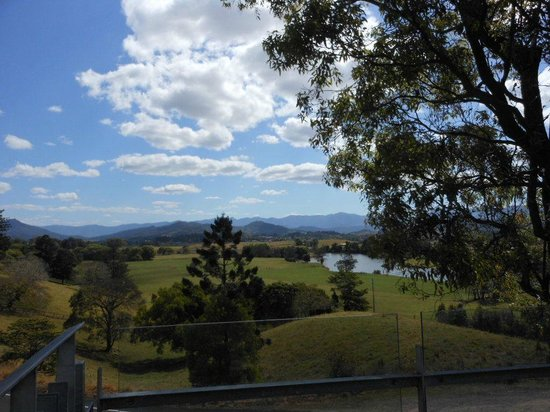 Tweed Regional Gallery & Margaret Olley Art Centre:                   Glorious View from Galley Balcony