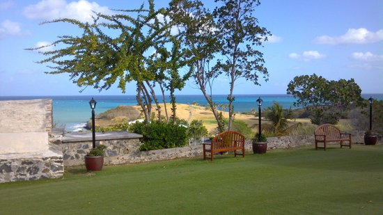 The Buccaneer St Croix:                   View from Greathouse