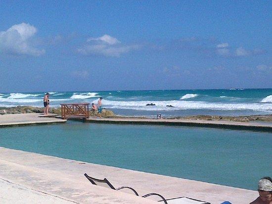 TRS Yucatan by Palladium:                   Salt water pool