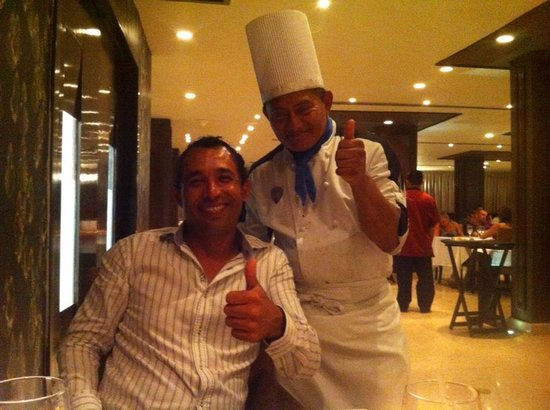 Hard Rock Hotel Cancun:                   Francisco Ferraez the Cheff at Ciao restaurant: Best food!
