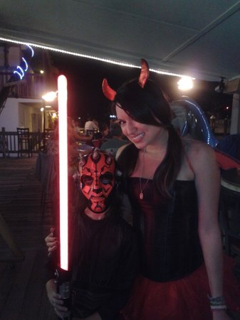 Smugglers Cove Restaurant and Bar:                   happy Halloween at Smugglers Cove 2012
