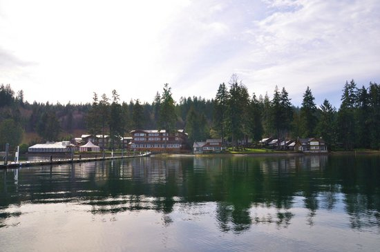 Alderbrook Resort & Spa:                                     View from the dock