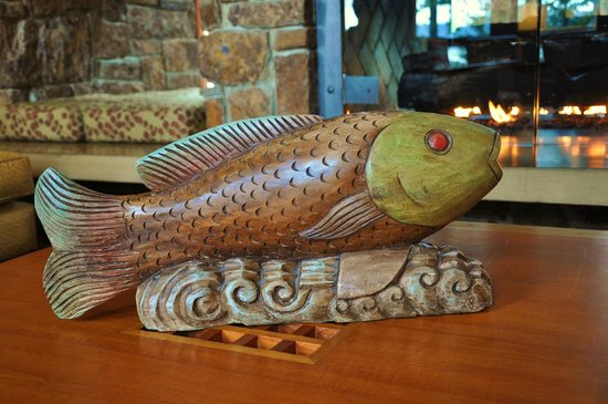 Alderbrook Resort & Spa:                                     Lounge decor