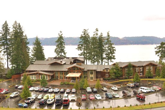 Alderbrook Resort & Spa :                                     View from a hike