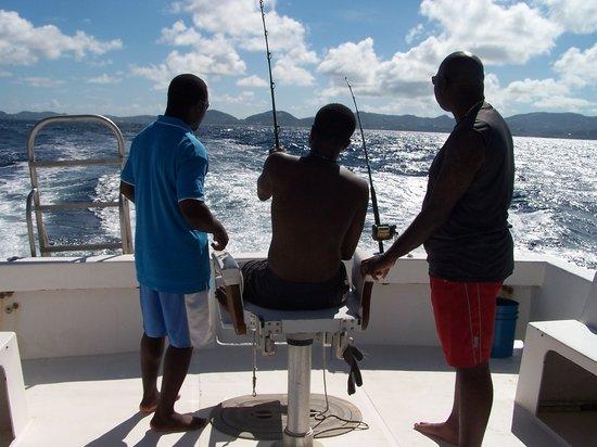 Hackshaw's Boat Charters :                                     Fishing