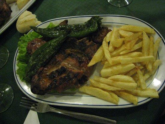 El Meson de Clemente :                   Barbecued Lamb