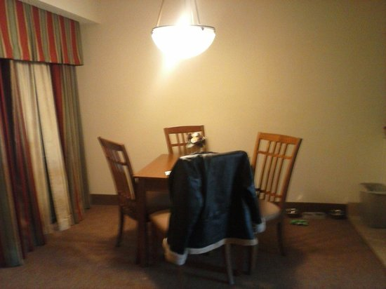 Country Inn & Suites By Carlson, Tulsa Central:                                     dining area in our suite