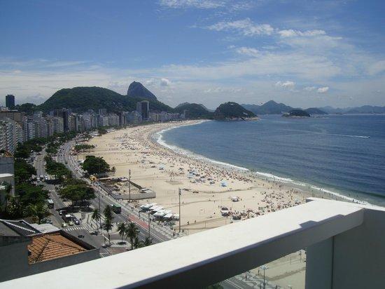 Rio Othon Palace Hotel:                   VISTA DALLA CAMERA 1710