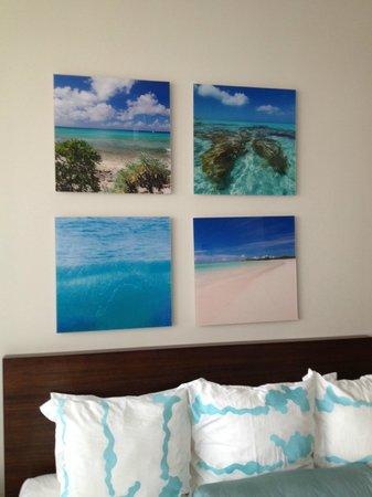 Gansevoort Turks + Caicos:                   Decoração do apto. Lindo!