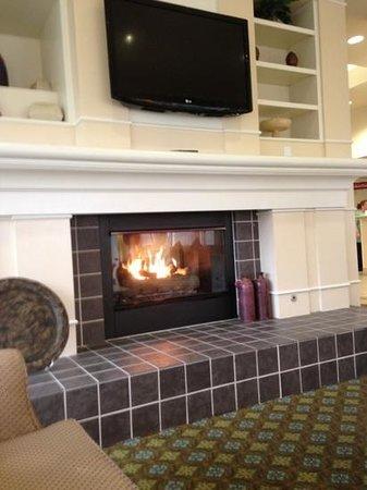 Hilton Garden Inn Seattle/Renton:                   da blieb nur der Kamin