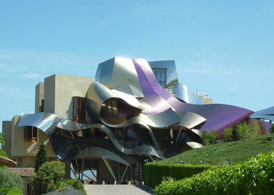 Hotel Marques de Riscal a Luxury Collection Hotel:                   Hotel roof
