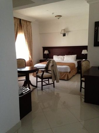 Al Maha International Hotel :                   mein Zimmer