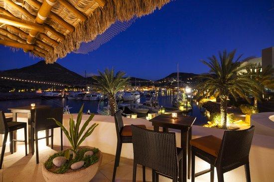 Steinbeck's Restaurant : Vista a Pueblo Marinero @ Costabaja